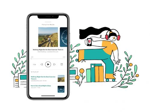 Pocket Plans to Turn Your Never-Ending News Reading List Into a Podcast