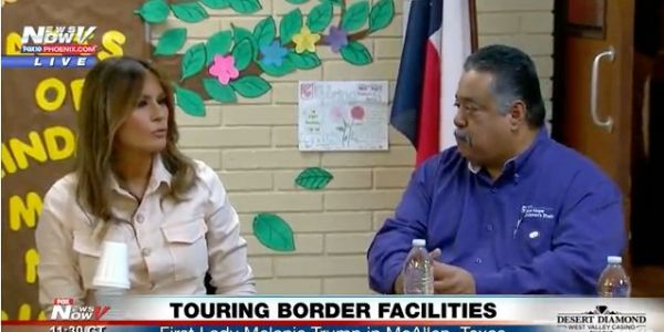 Melania Trump made a surprise trip to the border amid firestorm over family-separation policy