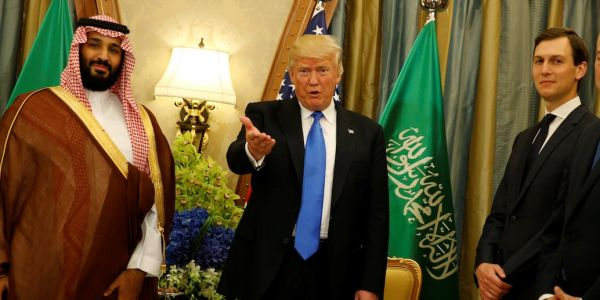 Jared Kushner is reportedly urging Trump to stand by the Saudi crown prince until the Khashoggi crisis blows over