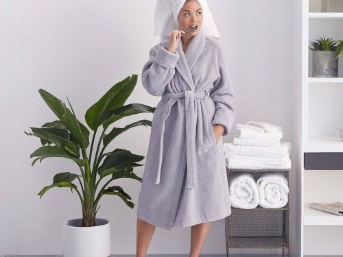 Brooklinen's $100 bathrobe is the little luxury I never thought I needed