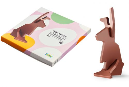 Ikea is selling a 'flat-pack' chocolate bunny for Easter