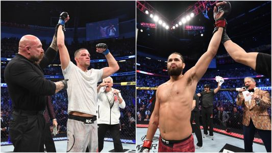 Nate Diaz vs. Jorge Masvidal 'for the baddest mother-f--- in the game belt' is a bout Dana White wants, but it leaves Conor McGregor in the cold