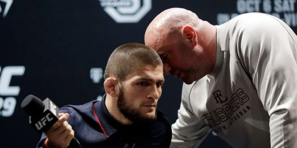 Dana White just gave a big hint as to Khabib Nurmagomedov's next opponent, and it could be a fight that's been years in the making