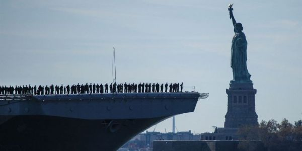 The US Navy's newest fleet is bulking up for 'leaner, agile' operations to counter Russia in the Atlantic and the Arctic