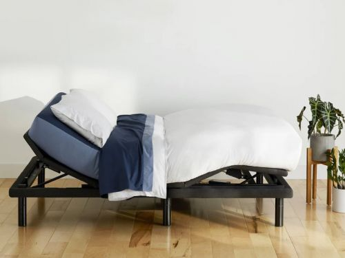 I slept on Casper's new adjustable bed frame with a built-in massage function - here's what it was like