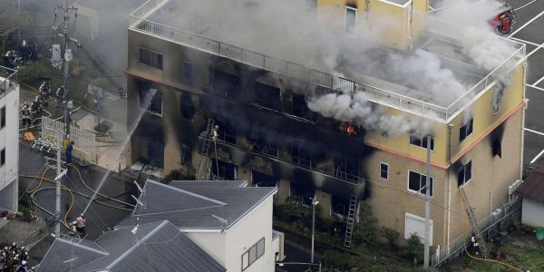 The suspected arsonist behind a deadly fire at a Japanese animation studio told police his work had been plagiarized