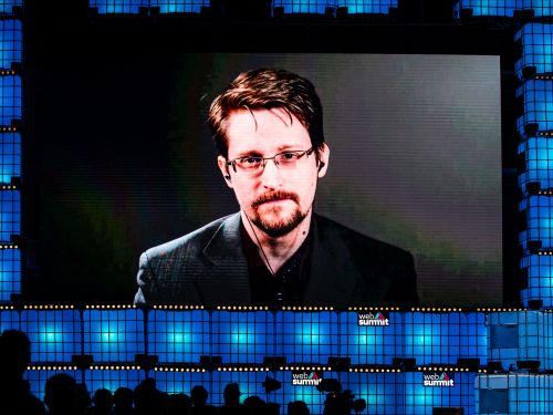 Edward Snowden warns COVID-19 could give governments invasive new data collection powers that will last long after the pandemic