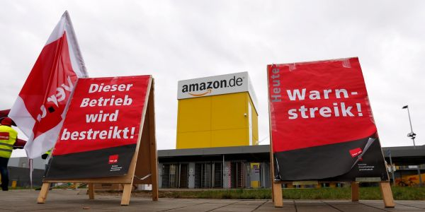 More than 500 Amazon workers in Europe are going on strike this Black Friday