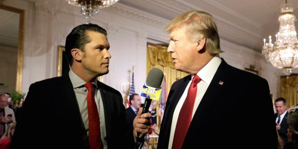Fox and Friends' co-host Pete Hegseth convinced Trump to consider pardons for troops accused of war crimes
