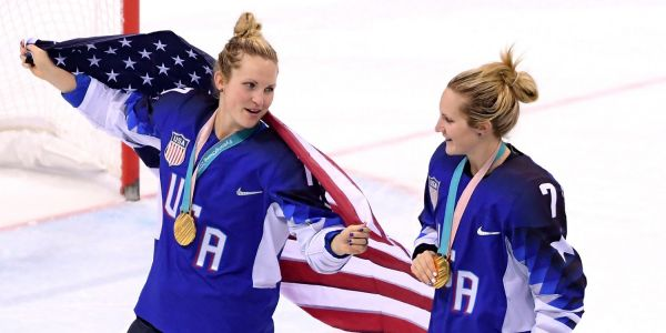 The twin sisters who were heroic in helping US Hockey win gold were scared that they would be cut from the team 4 months before the Olympics