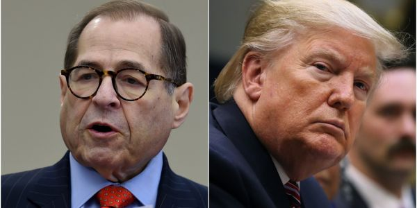 House Judiciary Chairman Jerry Nadler says a jury would convict Trump 'in about three minutes flat'