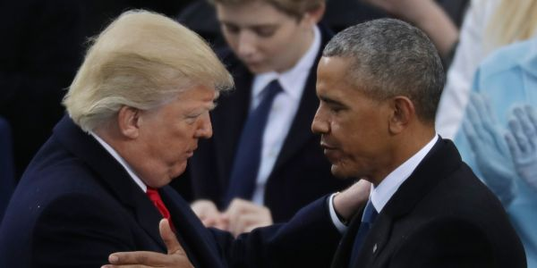 'Let's just remember when this recovery started': Obama hits back at Trump taking credit for strong economy