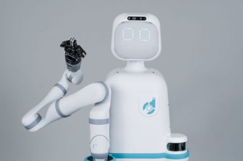 Moxi is a hospital robot with social intelligence