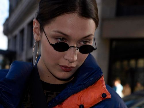 Bella Hadid wore a puffer coat in Paris - and she made it look cool