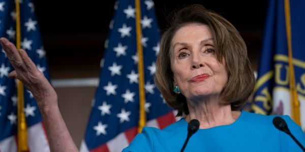 Nancy Pelosi says she'll start working with Trump once the 'extremely stable genius' starts acting more presidential