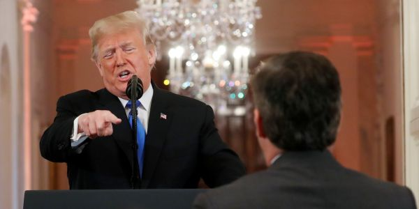 Trump explains how he'll handle Jim Acosta now that his press pass is back
