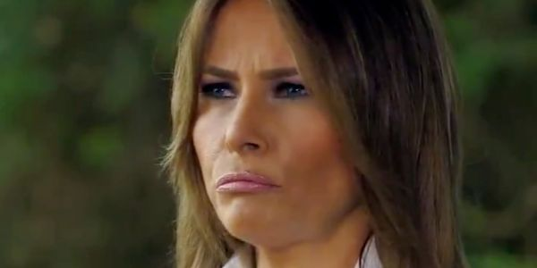 Melania Trump responds to Donald Trump's fiery tweets in revealing interview