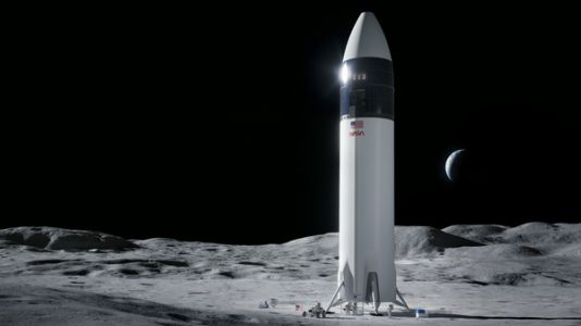 SpaceX Wins $2.9 Billion Contract For Next Lunar Lander