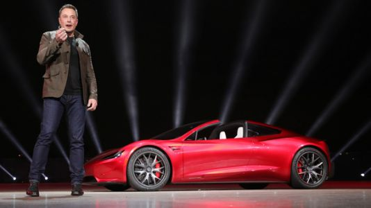 Tesla Unveils Its Electric 'Semi' Truck, And Adds A Roadster