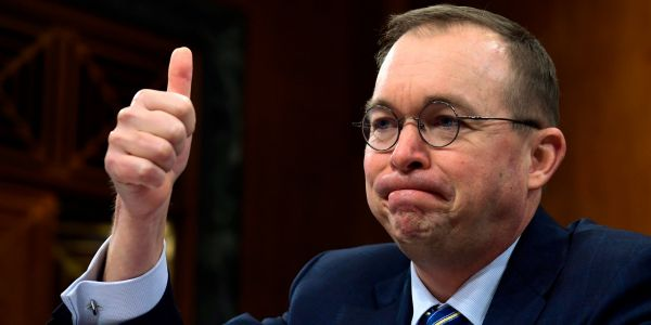 Mick Mulvaney reportedly plans to undo John Kelly's work as White House chief of staff
