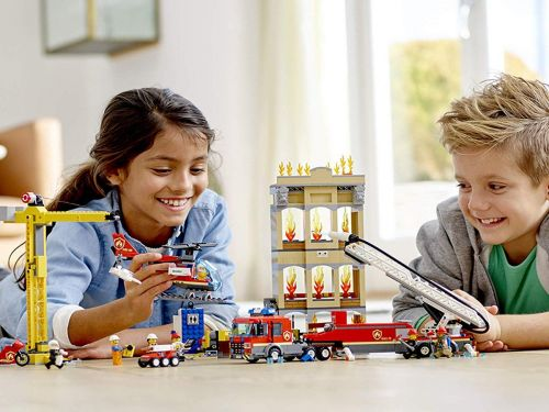 My kids and I built and played with LEGO's new City Sets, and they are more fun and engaging than ever