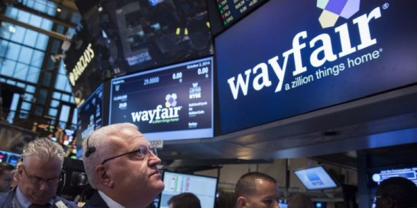 Online furniture retailer Wayfair plummets after posting a big loss