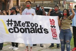 McDonald's workers across US protest against sex harassment