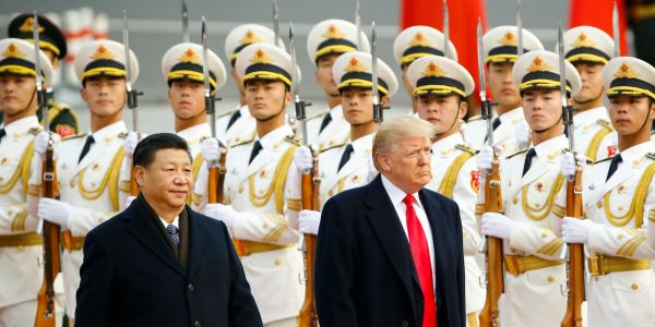 China blasts Trump and escalates trade battle after he makes abrupt reversal on tariffs