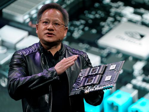 Nvidia is slipping ahead of earnings