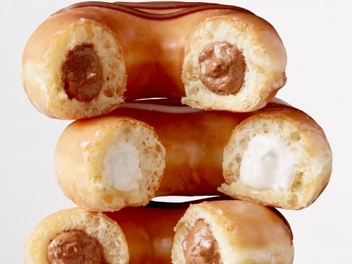Krispy Kreme is rolling out a new version of its iconic glazed doughnut - here's how to get one for free