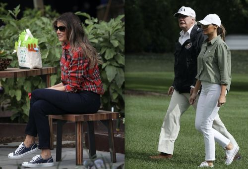 Melania Trump is brilliantly copying Michelle Obama and becoming the most popular person in the White House
