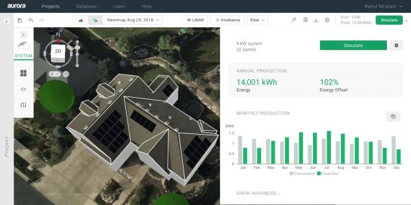Aurora Solar's computer-generated installation maps pull in a $20M Series A