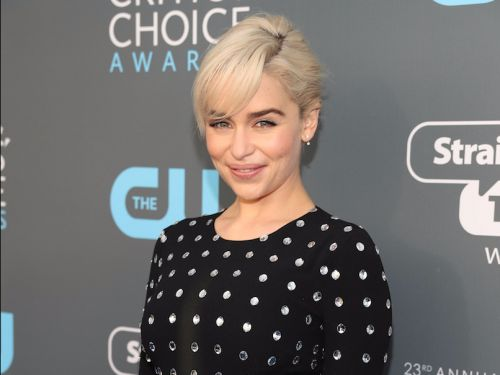 Emilia Clarke now has bangs - and they totally change her look