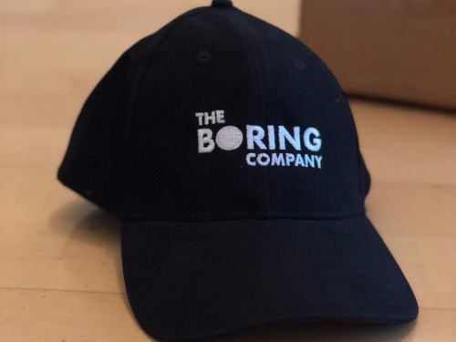 Elon Musk is giving away a special prize to 10 lucky people who bought his $20 Boring Company hat