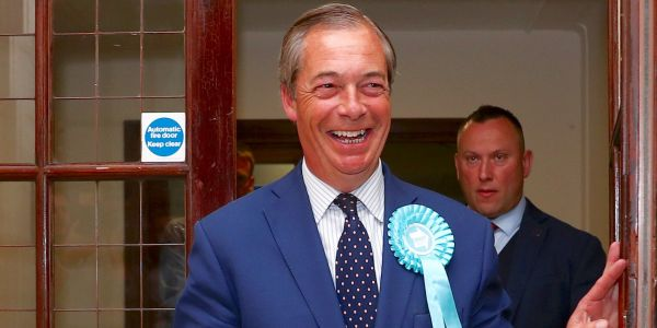 The Brexit Party to win European elections in UK as Conservative party collapses to fifth place