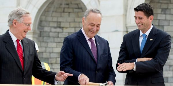 WE'VE GOT A DEAL: Government shutdown looks set to end as Democrats surrender