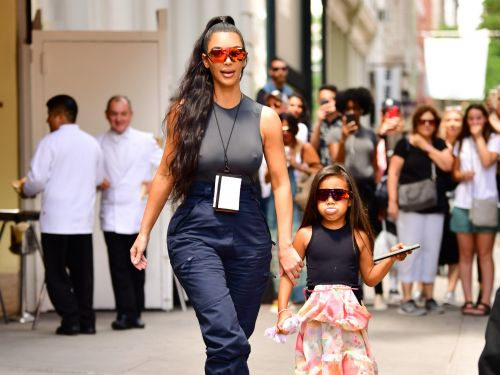 Kim Kardashian posted adorable photos from a photo shoot with North West: 'I always dreamed of having a baby girl'