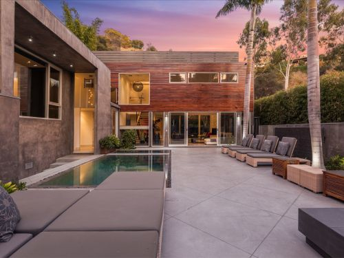 Alex Rodriguez just sold his Hollywood Hills mansion at a loss - take a look inside the $4.4 million 'experimental' home he bought from Meryl Streep