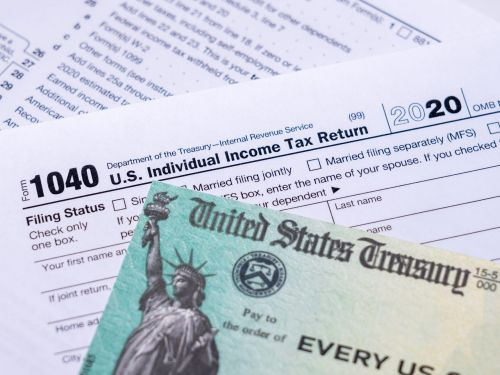 The IRS is topping off more than a million Americans' stimulus checks as it processes 2020 tax returns