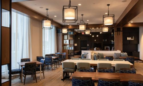 Newly Constructed, Dual-Branded Hotel Housing Hampton Inn by Hilton and Homewood Suites by Hilton to Open in Boston& 146;s Seaport District in April