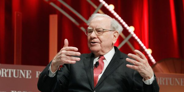 Apple's stock is falling after Warren Buffett's Berkshire Hathaway trimmed its stake