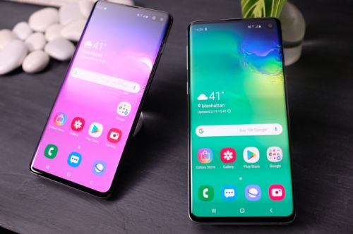Samsung's Galaxy S10 lineup arrives with four new models