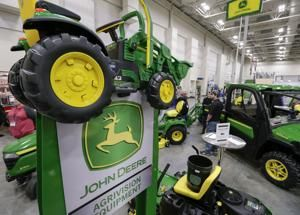 Deere profit soars. still, doubts on Wall Street