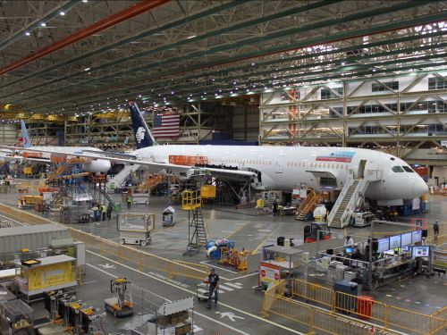 Take a look inside the Boeing factory where it builds its most iconic jets