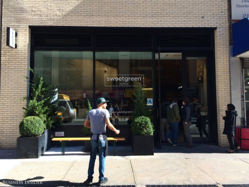 Sweetgreen is reportedly on track to be valued at $1 billion
