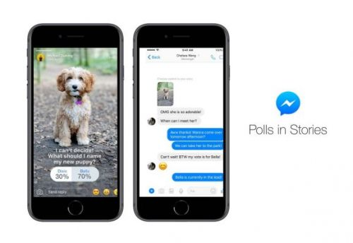 Facebook adds polls to Messenger Stories