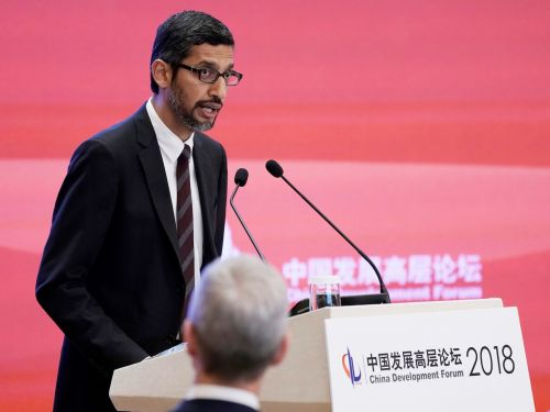 Google CEO Sundar Pichai will discuss China plans and alleged bias against conservatives with GOP lawmakers