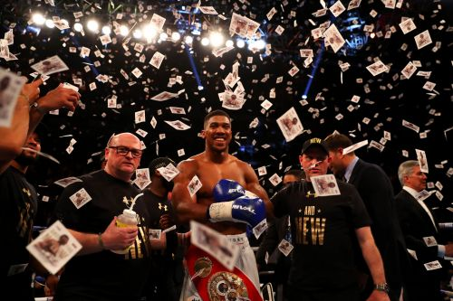 Anthony Joshua's next fight confirms he's this era's Floyd Mayweather