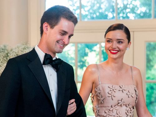Billionaire Snapchat CEO Evan Spiegel and supermodel Miranda Kerr are having a baby - here's a look inside the power couple's 2-year whirlwind romance