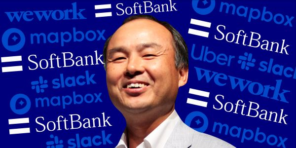 SoftBank's Masayoshi Son spent $100 billion building an interconnected tech empire. See how the companies in this network buy, partner and lend to each other to power Masa's vision
